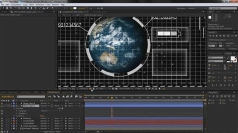 tutorial after effect kaskus after effects hud tutorial part 3 5 youtube