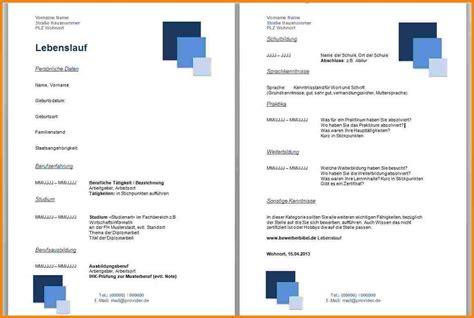 Lebenslauf Akademiker Muster 2013 14 Vorlage Lebenslauf Bewerbung Resignation Format