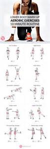 at home no equipment lower warm up exercises