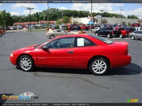 1998 Chrysler Sebring Lxi by 1998 Chrysler Sebring Lxi Coupe Indy Camel Photo 6