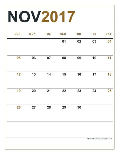 printable editable calendar november 2017 editable calendar november 2017 calendar printable 2017
