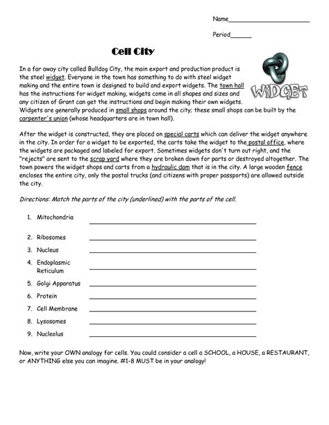 Cell City Worksheet by 100 Cell City Worksheet Best 25 Ideas About Cell