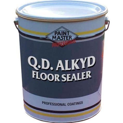 q d alkyd floor sealer