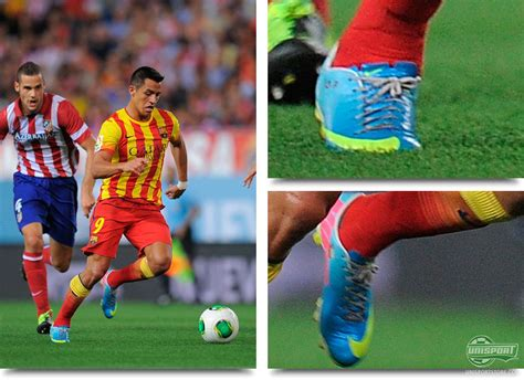 what boots does alexis sanchez wear midweek boot spots plenty of colour around europe