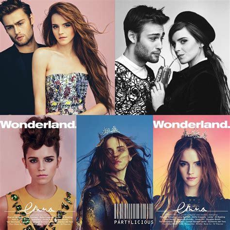 wonderland film emma watson emma watson for wonderland magazine 2014