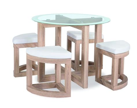 Compact Dining Table The Quarry Dining Set Is A Compact Dining Table And Stool