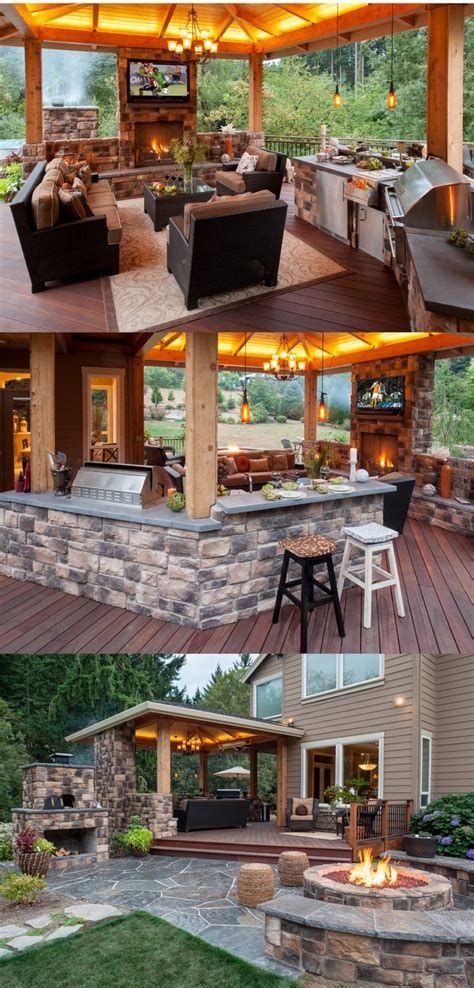 outdoor kitchen pictures and ideas 25 best ideas about patio ideas on patio
