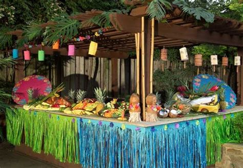 hawaiian themed decorations ideas hawaiian decorations ideas house experience