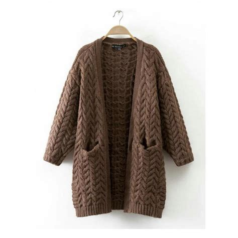 Sweater Pria Model New Casual Green Army Brown Shoulder Patch 447 popular brown sweater coat buy cheap brown sweater coat lots from china brown sweater coat