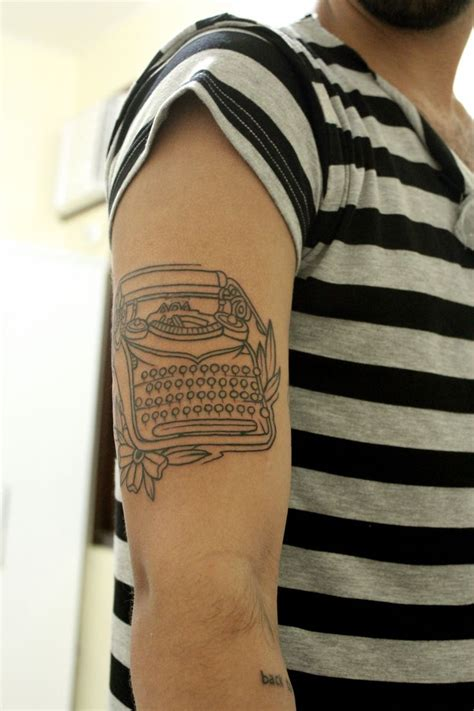 typewriter tattoo 44 best typewriter images on vintage