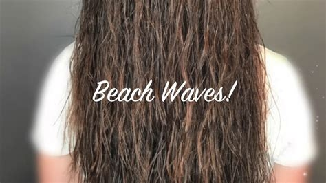 can you get a permanent beach wave in short hair beach wave perm by megan youtube