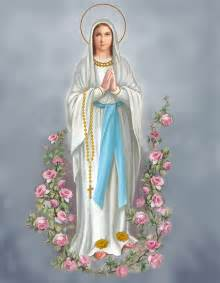 Blessed virgin painting blessed virgin by valer ian