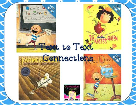 picture books for connections david and jean teach connections