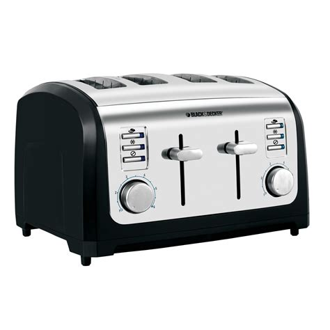 Black And Decker Toaster Shop Toasters Buy A 4 Slice Black And Decker Toaster T4030
