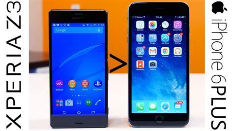 reasons  xperia     iphone