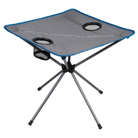 alps mountaineering square dining table alps mountaineering table xl designer tables reference
