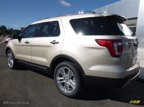 2017 ford explorer limited 2017 white gold ford explorer limited 4wd 114050061 photo