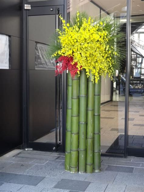 new year bamboo decoration 1000 ideas about japanese decoration on