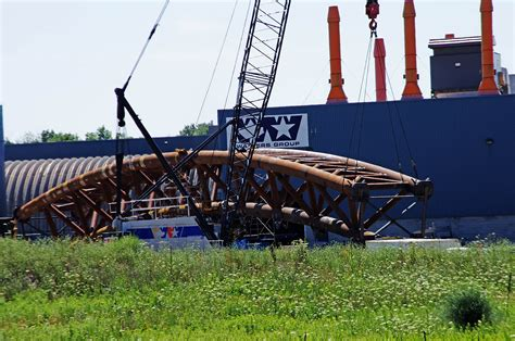 bridge steel sections 2016 07 20 fabricated bridge arches shipping out kubes