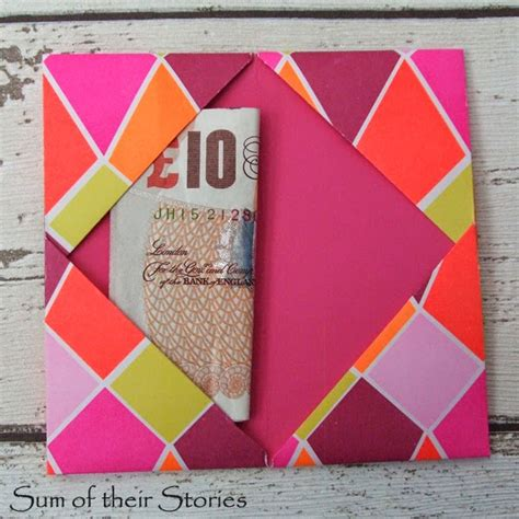 Origami Money Holder - origami gift wallet sum of their stories