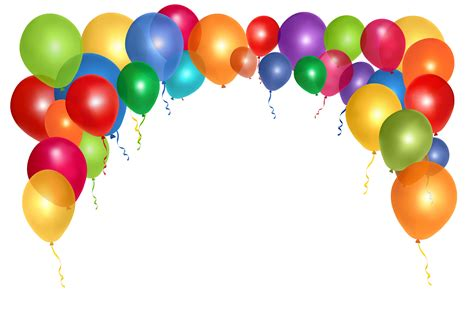 colorful balloons colorful balloons png image pngpix