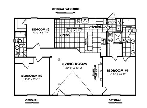 legacy mobile home floor plans legacy housing double wides floor plans