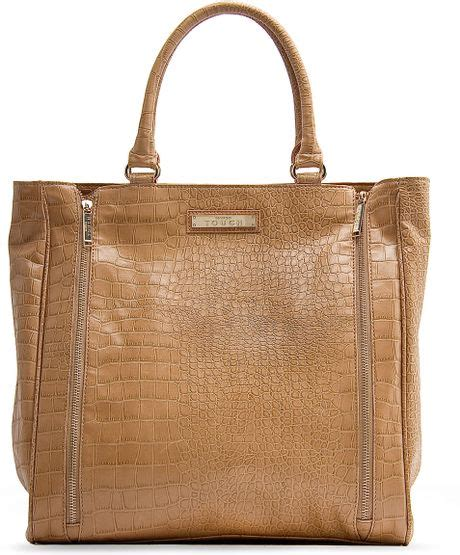 Mango Touch Bag mango touch bag zipper in beige 92 lyst