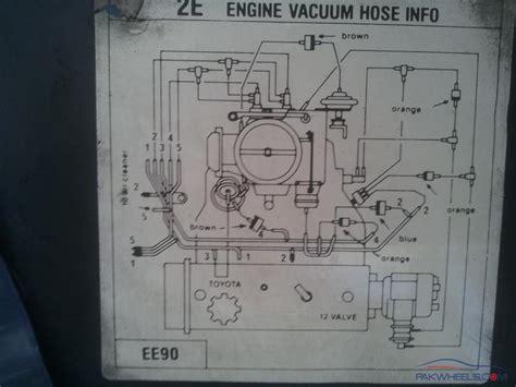 toyota 2e engine diagram nissan ga16de engine wiring