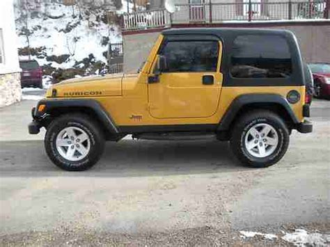 2003 Jeep Wrangler Hardtop Sell Used 2003 Jeep Wrangler Rubicon 4x4 Top 2 Door