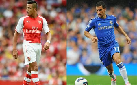 alexis sanchez vs hazard the community shield 5 things we can expect