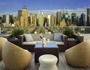 New York Roof Top Bar Hotel Ink48 A Kimpton Hotel Press Lounge Rooftop Bar