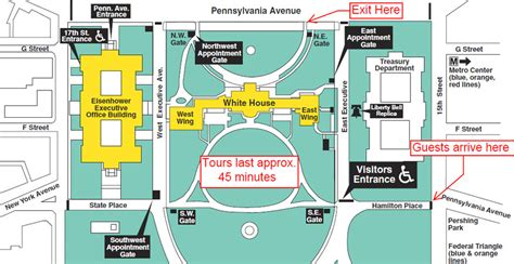 white house visitor entrance white house tours 2018 tickets maps and photos