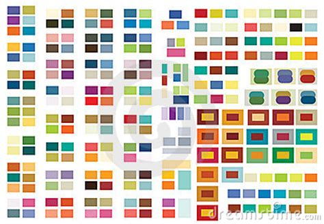 Print Or Web Color Combinations Stock Image Image | print or web color combinations stock image image