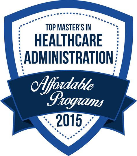 best masters in management programs top 20 affordable master s degrees in healthcare