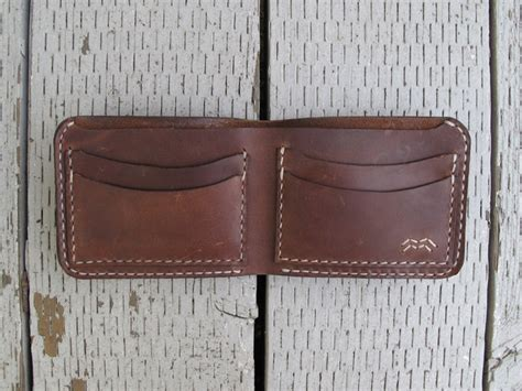 Handmade Leather Wallet Pattern - 17 best ideas about leather bifold wallet on