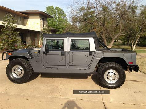 auto manual repair 2003 hummer h1 parking system 2003 hummer h1 green 200 interior and exterior images