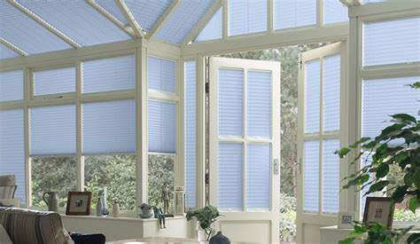 Conservatory Blinds Pleated Conservatory Blinds Sanderson