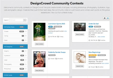 designcrowd community designcrowd has launched new community features