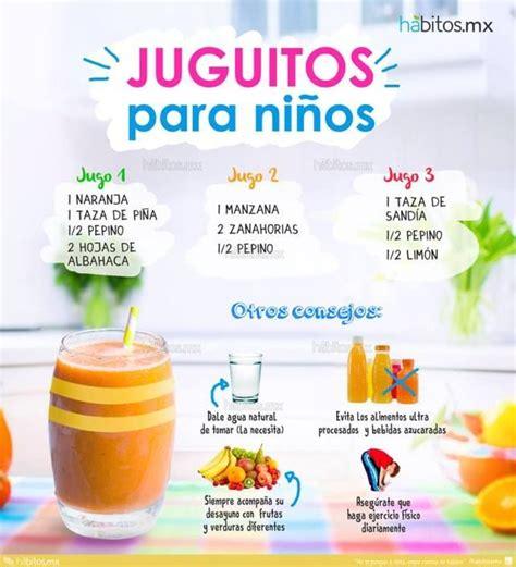 Recetas De Jugos Detox 3 Dias by 17 Mejores Ideas Sobre Batidos Para Ni 241 Os En