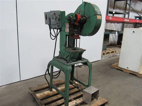 mechanical bench press benchmaster 182 5 ton mechanical trip punch press 1 1 2