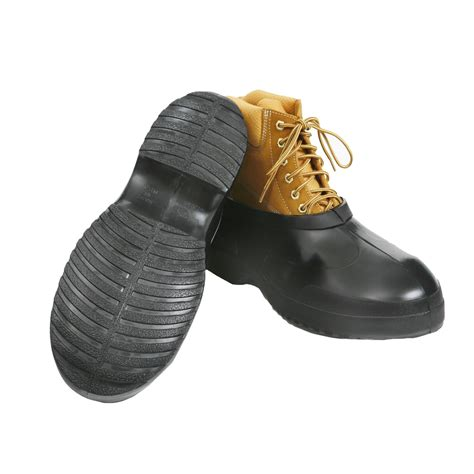 totes s work boot style rubber overshoes