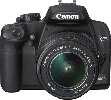 Resmi Kamera Canon Eos 1000d en ucuz canon eos 1000d 18 55mm lens dijital slr