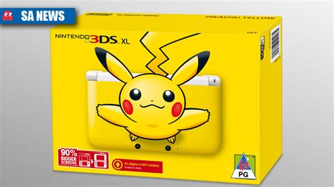 Pikachu Yellow Headed Our Way by Sa Pricing For Nintendo 3ds Xl Limited Editions