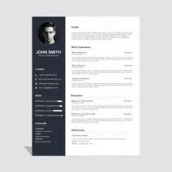 Template Curriculum by Corporate Curriculum Vitae Template Vector Free