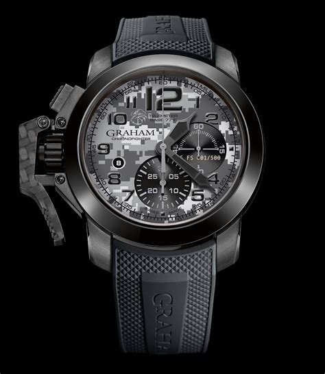 graham chronofighter oversize navy seal foundation limited