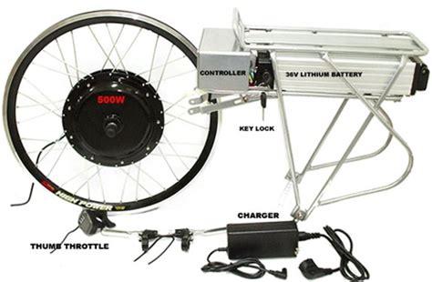 hub motor kit tri rider e ped 500 w lithium li ion electric hub motor
