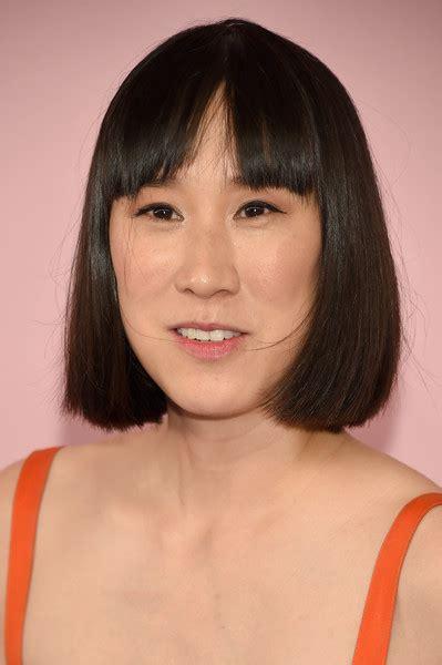 short cut with chinese bang eva chen short cut with bangs hair lookbook stylebistro