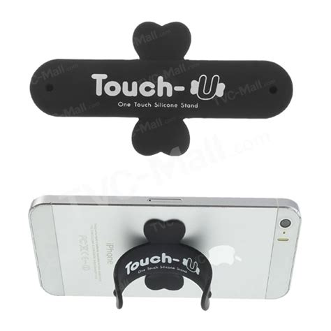Touch U Silicone Stand Hp Stand Phone Stand universal portable touch u one touch silicone stand for iphone samsung htc sony mobile phones