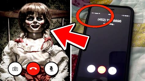 annabelle doll number what happens when you facetime annabelle evil