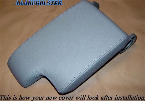Armrest Bmw E46 Type fits bmw e46 center console lid armrest cover upholstery replacement black ebay
